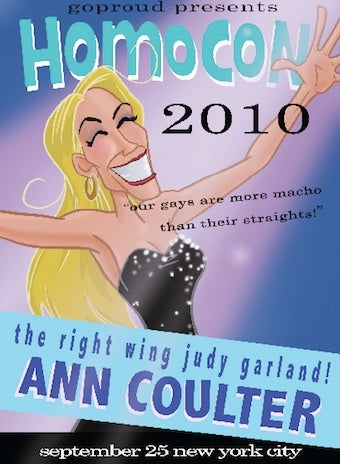 Illustration for article titled Conservative Conference Dumps Ann Coulter