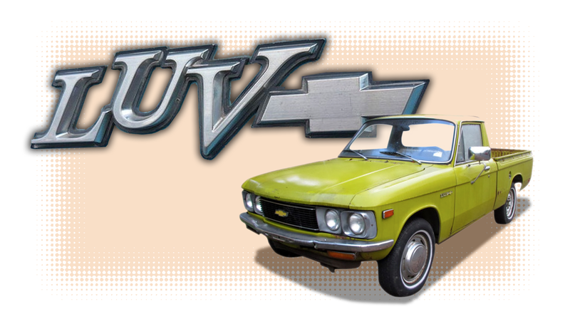 Illustration for article titled Just Remember That Chevy Once Sold a Truck Called the LUV
