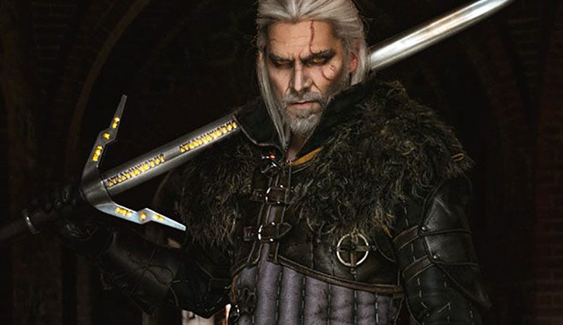 Illustration for article titled Cosplayer Becomes Geralt, Witcherest Of Witchers