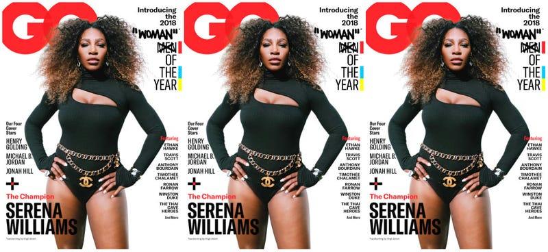 Illustration for article titled Design Flaw: Serena Williams' GQ Cover Deserved Better Than Virgil Abloh