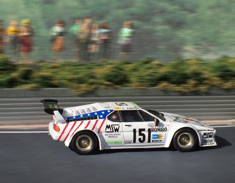 Quartzo 1/43 BMW M1, Le Mans, 1985