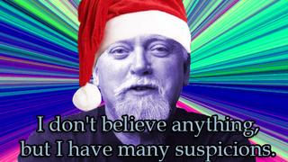 Illustration for article titled RAW: Santa the Criminal