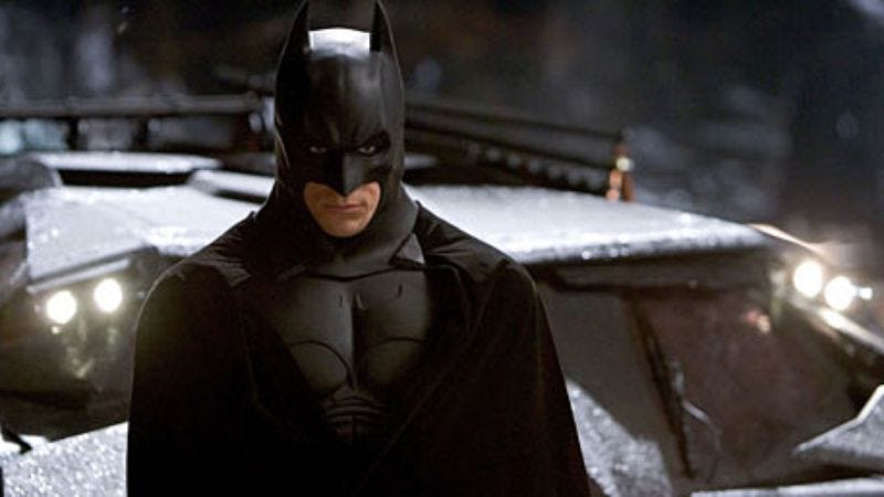 Illustration for article titled Christian Bale isn't Batman in the Justice League, insists Batman