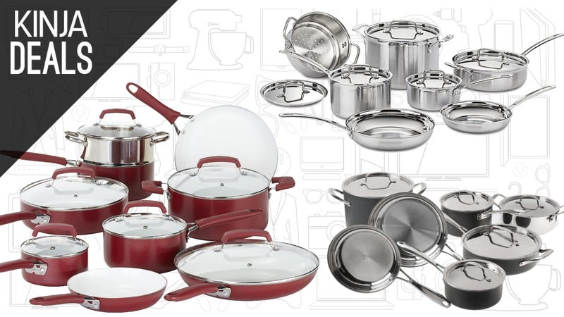 Upgrade your kitchen with these discounted cookware sets for Kitchen set deals