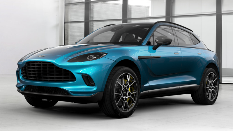 Illustration for article titled How Would You Configure Your Aston Martin DBX?