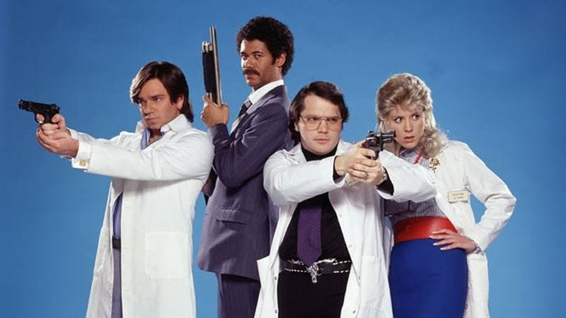 Illustration for article titled Garth Marenghi's brief, hilarious reign of terror