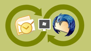 Illustration for article titled How to Sync Your Desktop Email Client (Outlook or Thunderbird) Across Multiple Computers