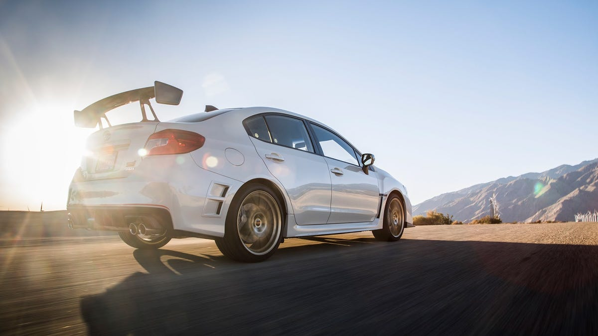 Heres Why Subaru Thinks It Can Charge You 50000 For The Wrx Sti 19 Inch Wheels On Type Ra