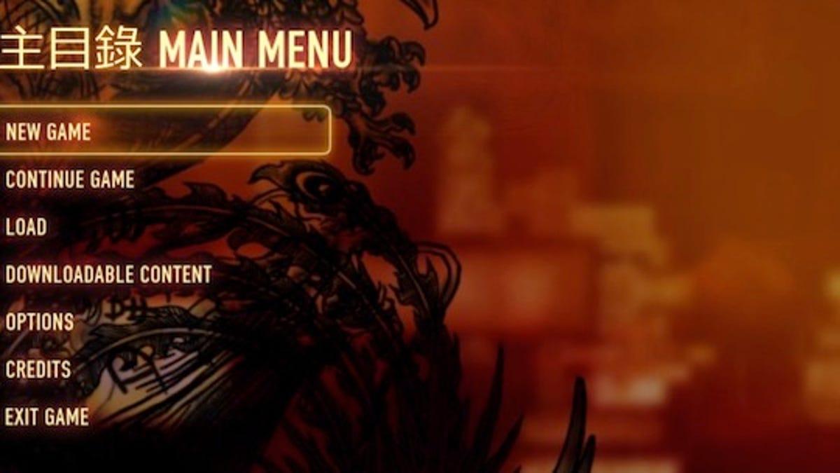 The Ten Commandments Of Video Game Menus Sinners And Saints - Game menu design