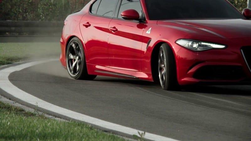 Illustration for article titled The Alfa Romeo Giulia Quadrifoglio is a Cheat