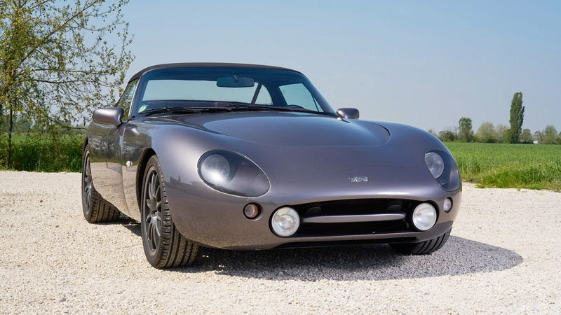 Illustration for article titled This TVR Griffith 500 Might Be The One To Buy In Monaco