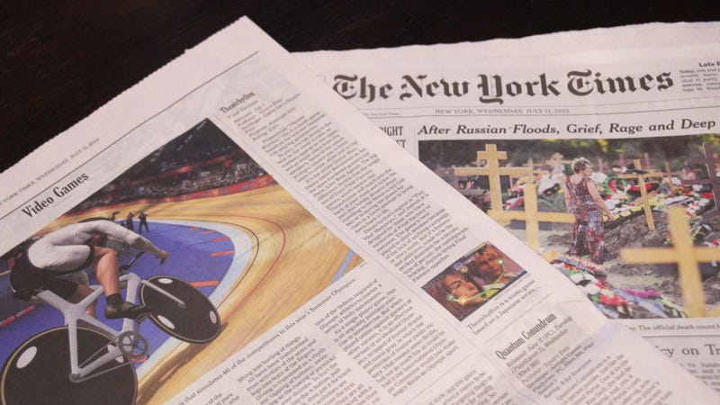 Illustration for article titled Kotaku Reviews Now Running in The New York Times