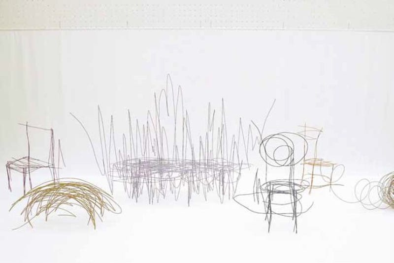 Illustration for article titled These Scribbled Sketches Are Actual Pieces of Furniture