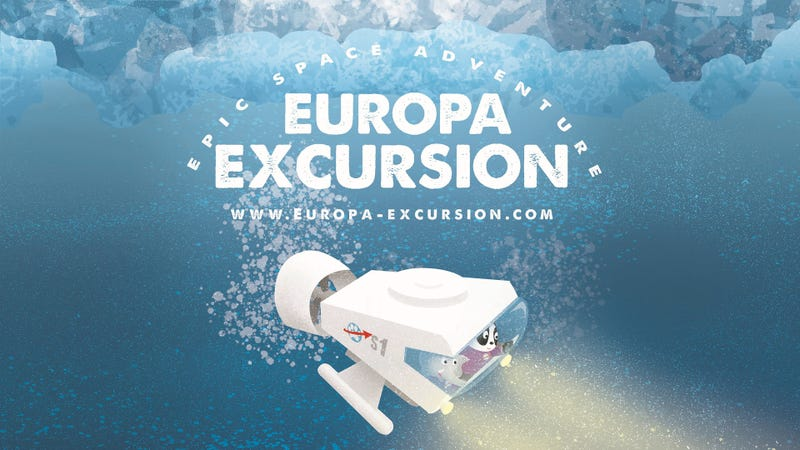 Take a Perilous Journey Into Europa's Ocean in This Science Fiction Book for Kids