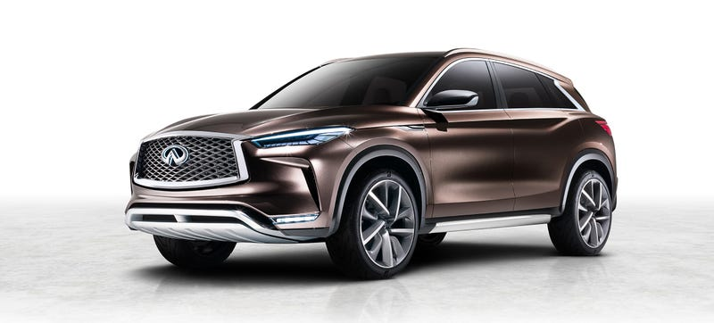 Illustration for article titled The Infiniti QX50 Concept Will Have That Variable-Compression Witchcraft Engine