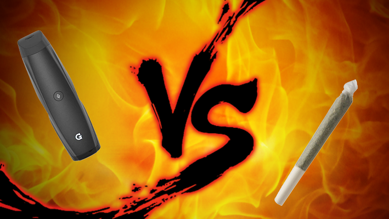 Illustration for article titled Smoking Showdown: Vape Pens vs. Joints