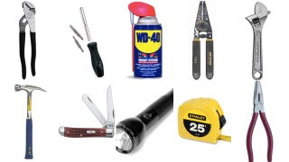 The Ten Tools You Need To Fix All The Broken Stuff in Your Home