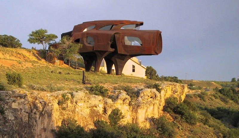 Illustration for article titled Casas de diseño futurista en las que apetecería quedarse a vivir