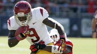 Illustration for article titled USC's Marqise Lee Has Shattered The PAC-12 Single-Game Receiving Record [UPDATE]