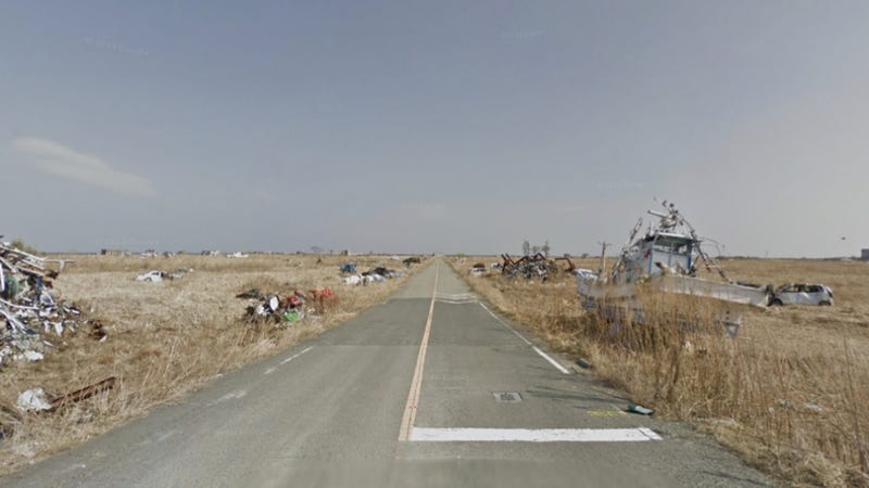 Illustration for article titled Explore Fukushima's Nuclear Zone in Google's Startling Street View