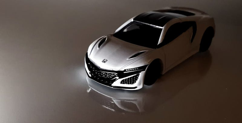 Illustration for article titled A white Honda