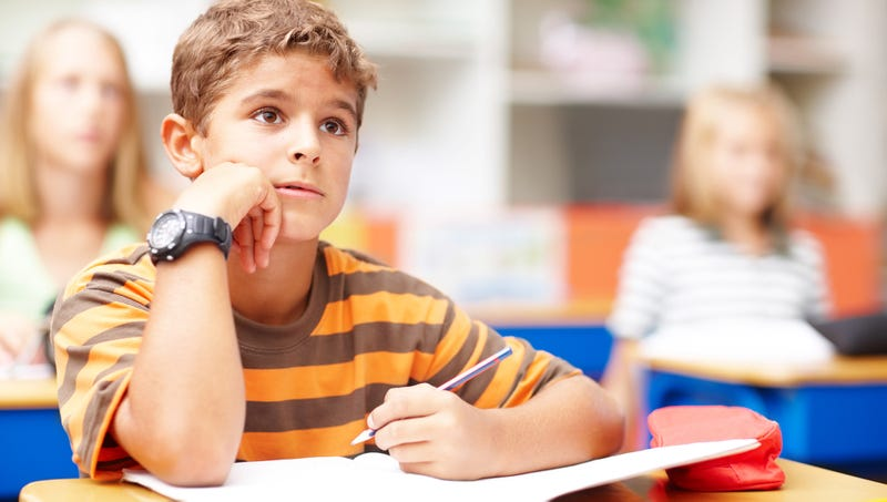 Illustration for article titled 4th Grader Panics Upon Realizing Classmate Giving Presentation Had Exact Same Summer As He Did