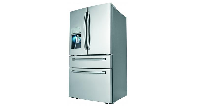 Illustration for article titled Samsung's Brilliant New Fridge Has a Built-In SodaStream Dispenser
