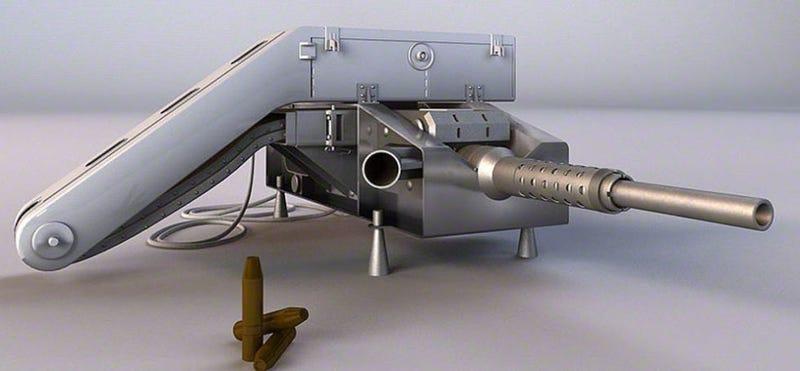 Illustration for article titled Así era el cañón que Rusia disparó desde una estación espacial en medio de la Guerra Fría