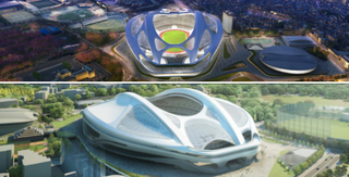 Illustration for article titled The Fight Over Tokyo's Olympic Stadium Is Getting Very, Very Ugly