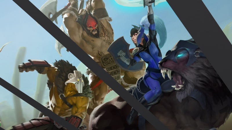 Illustration for article titled BizarreDOTA 2 Tournament Sounds Like The Best Kind Of Mess