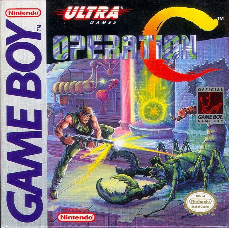 Illustration for article titled Operation C Shows Gameboy Games Rule On Switch