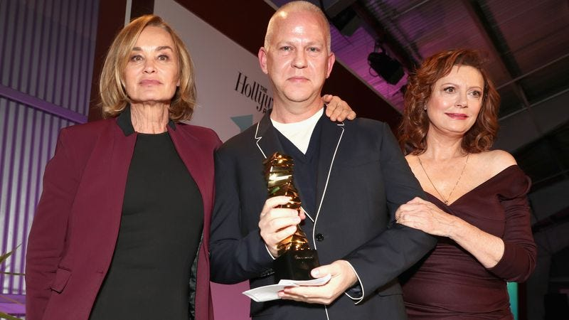 Jessica Lange, Ryan Murphy, and Susan Sarandon (Photo: Photo by Todd Williamson/Getty Images for The Hollywood Reporter)