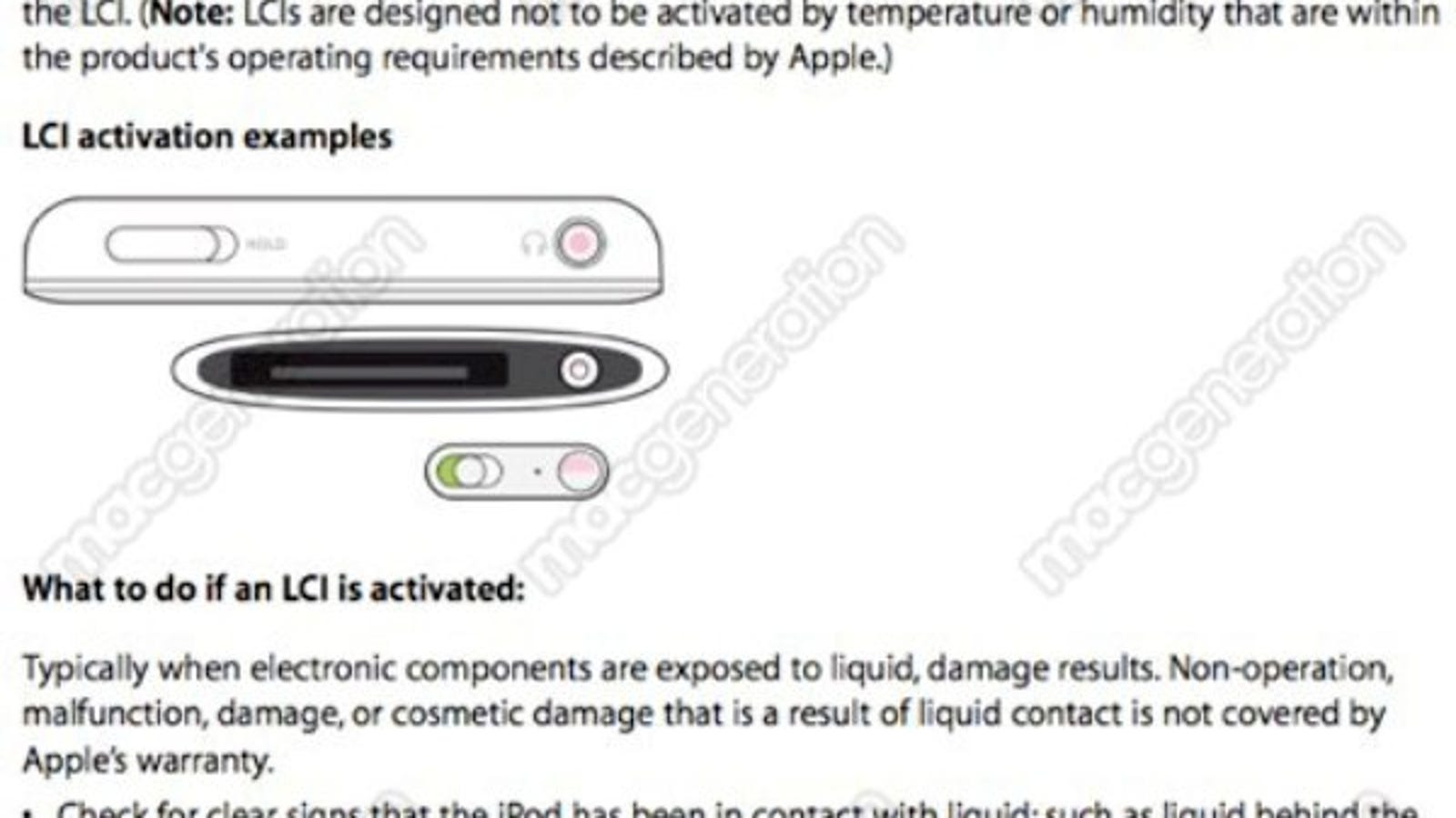 reputable site 506ca 01e03 Triggered Water Damage Indicator Doesn't Rule Out Replacement iPhones