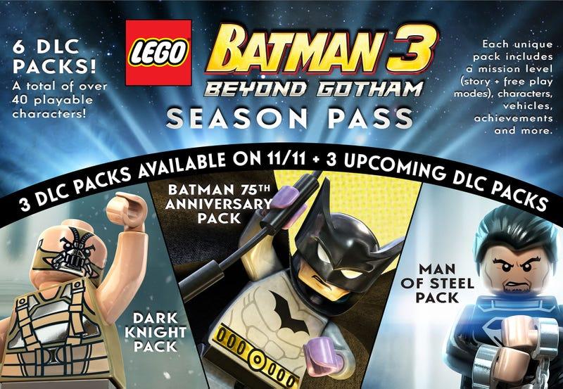 Illustration for article titled LEGO Batman 3 Is Getting A DLC Season Pass. I've Got A Better Idea.