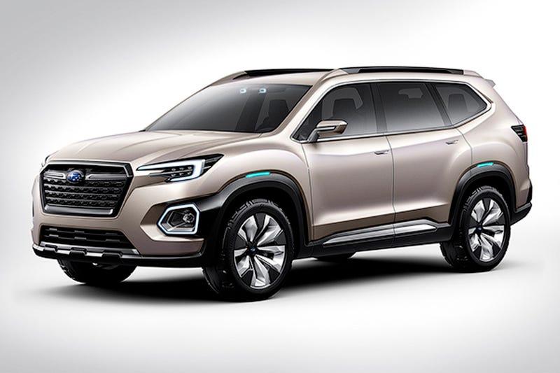 The Subaru Viziv-7 Is The Seven Seat SUV That Will Cement Subaru's Takeover Of America