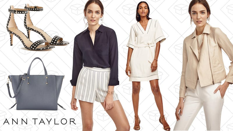 Ann Taylor is taking up to 60% off during the Semi-Annual Sale. Shipping is $ Flat-Rate or Free Shipping on orders $+. Tax in many. Take advantage of .