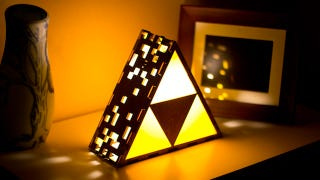 Illustration for article titled You'll Want This Triforce Lamp Until You See The Price Tag