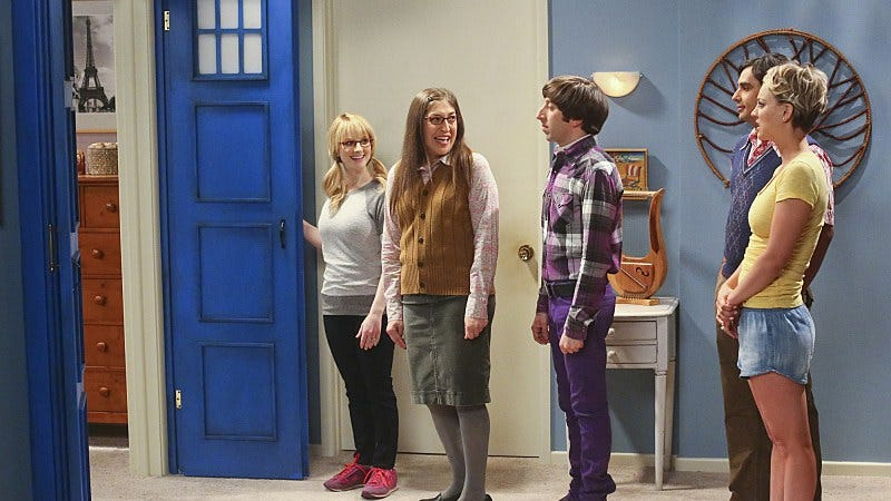 """Illustration for article titled The Big Bang Theory: """"The Skywalker Incursion"""""""