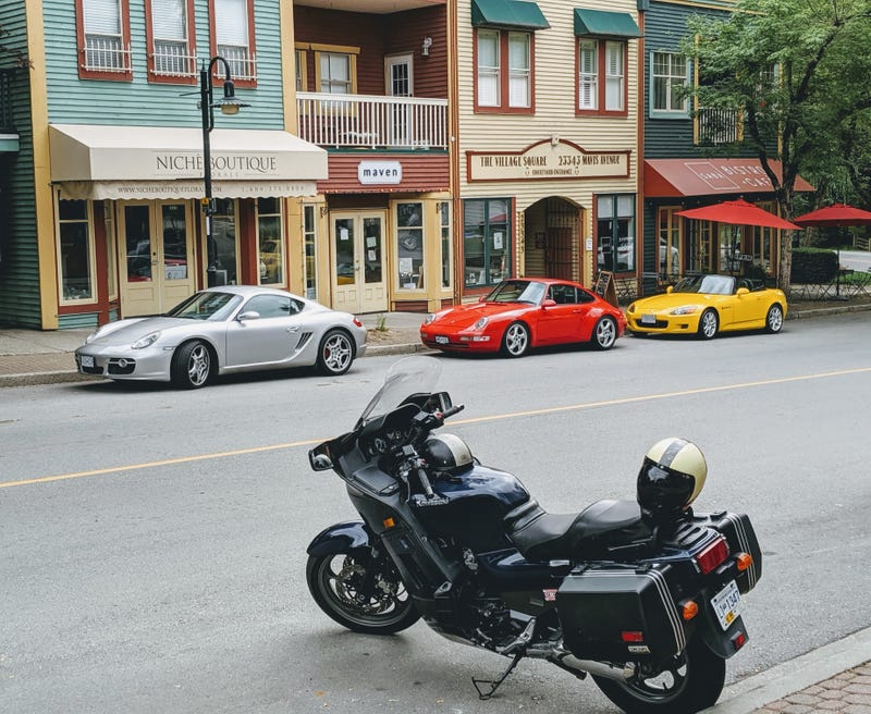 Illustration for article titled Morning rush in Fort Langley