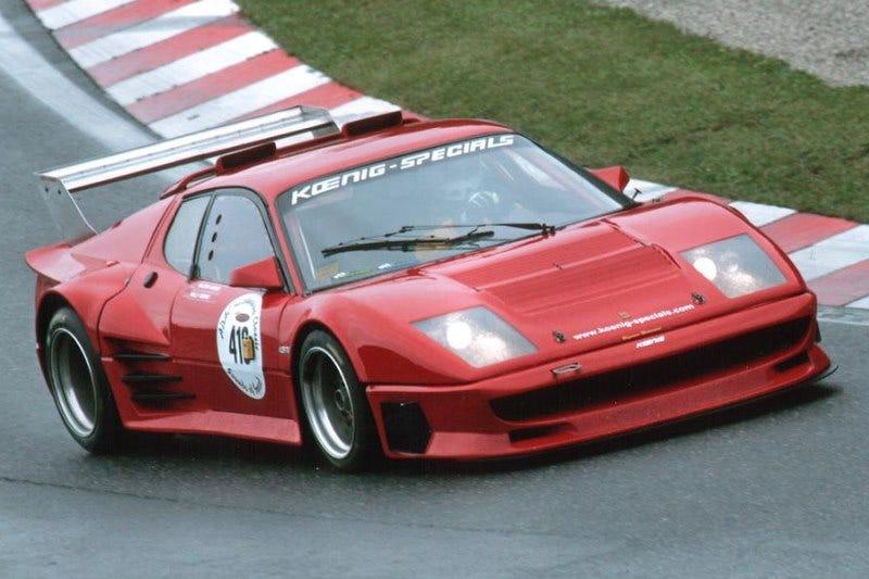 Illustration for article titled TIL Ferrari 365 GT4 BB Koenig exists