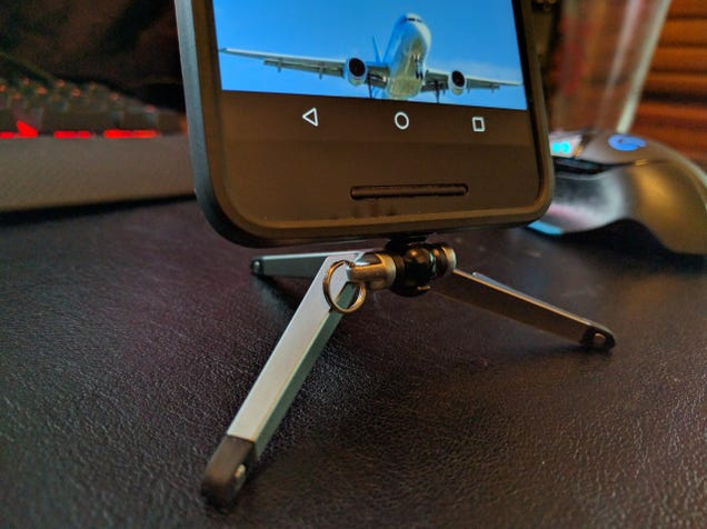 The Kenu Stance Is a Tiny, Portable Tripod for Your Phone (with a Bottle Opener)