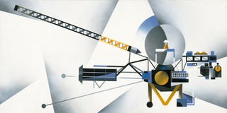 Illustration for article titled The Voyager Probe Gets a Stylized Tribute