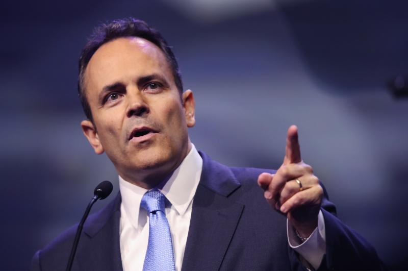 Matt Bevin, gobernador de Kentucky. (Foto: Scott Olson vía Getty Images)