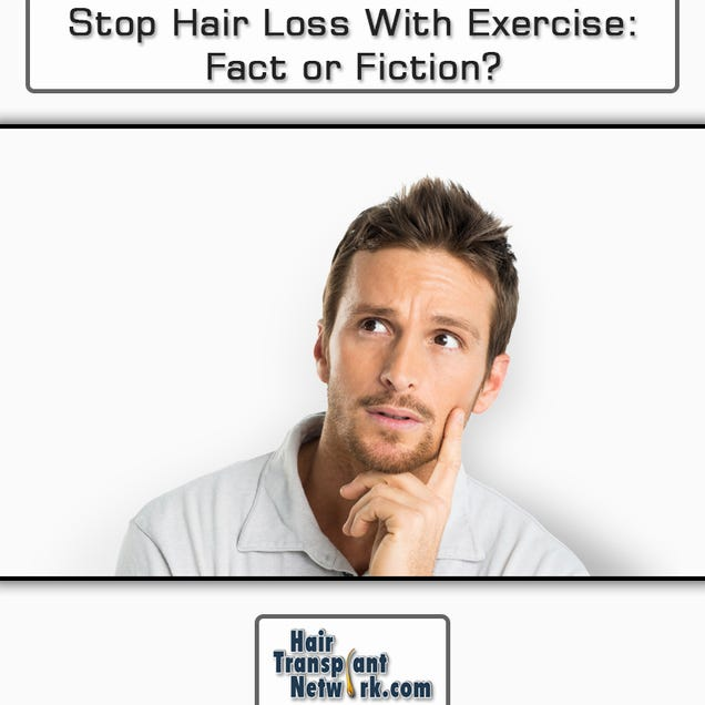 Illustration for article titled Stop Hair Loss With Exercise: Fact or Fiction