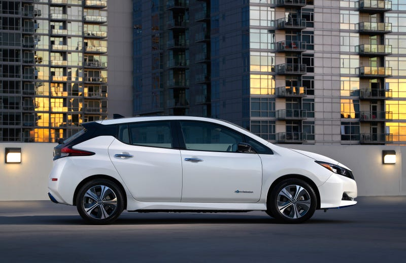 Illustration for article titled Nissan's 226 Mile Leaf Plus Will Start At $36,550