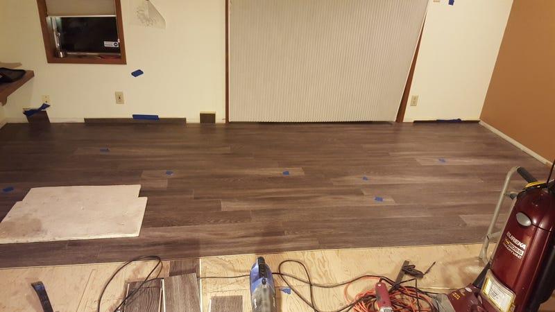 Illustration for article titled Vinyl flooring update