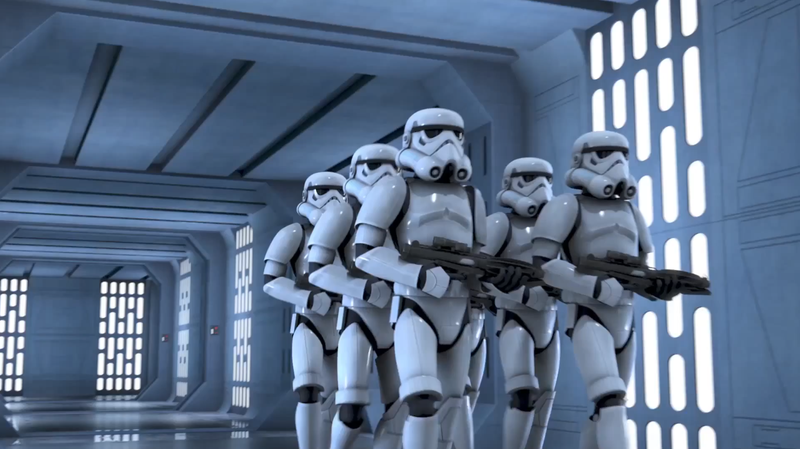 Illustration for article titled Six Wallpaper-Ready Images From The New Star Wars Rebels Trailer
