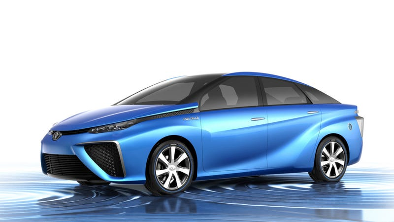 Illustration for article titled Toyota Is Totally Going To Sell A Hydrogen Fuel Cell Car In 2015