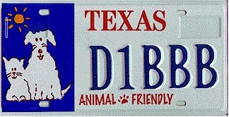Illustration for article titled Use a License Plate Frame, Go To Texas Jail