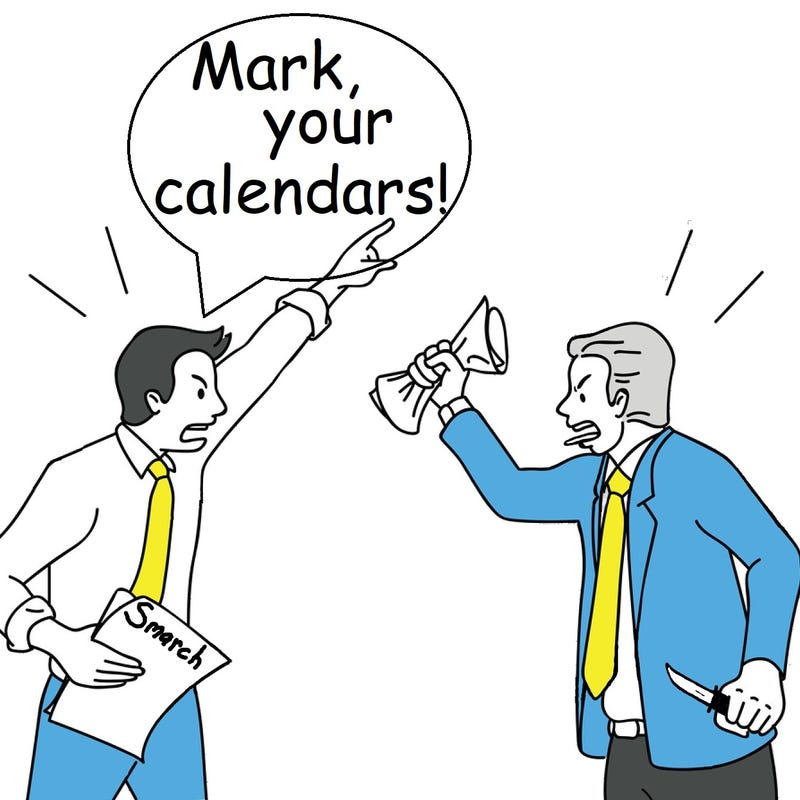 Illustration for article titled MARK HAS A KNIFE!